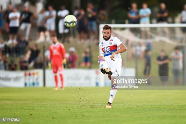 Lucas Tousart of Lyon during the Friendly match between Montpellier Herault and Olympique Lyonnais on July 30 2017 in Montpellier France