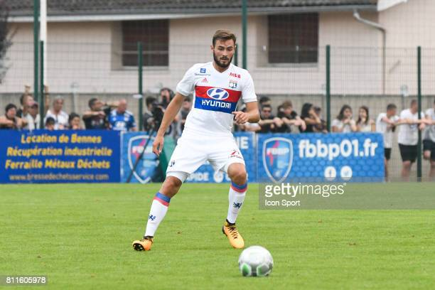Lucas Tousart of Lyon during the friendly match between Olympique Lyonnais and BourgenBresse on July 8 2017 in Peronnas France