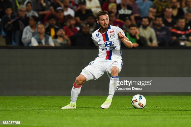 Lucas Tousart of Lyon during the Ligue 1 match between Montpellier and Olympique Lyonnais Lyon at Stade de la Mosson on May 14 2017 in Montpellier...