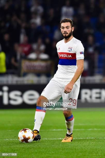 Lucas Tousart of Lyon during the Uefa Europa League match between Lyon and Atalante Bergame on September 28 2017 in Lyon France
