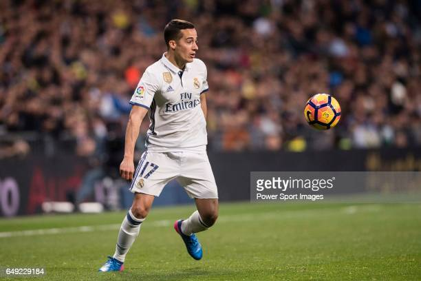 Lucas Vazquez of Real Madrid during their La Liga match between Real Madrid vs Las Palmas at the Santiago Bernabeu Stadium on 01 March 2017 in Madrid...