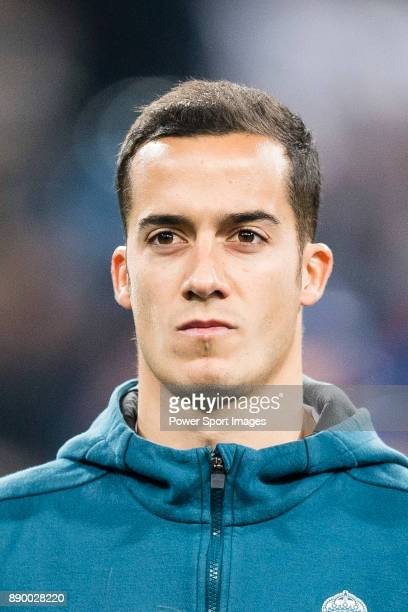 Lucas Vazquez of Real Madrid getting into the field during the Europe Champions League 201718 match between Real Madrid and Borussia Dortmund at...