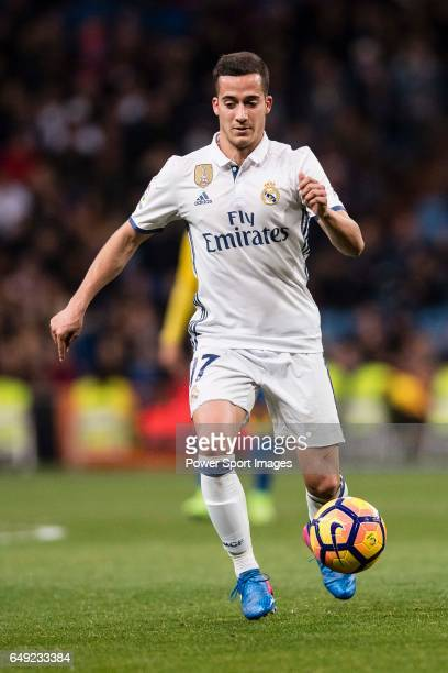 Lucas Vazquez of Real Madrid in action during their La Liga match between Real Madrid vs Las Palmas at the Santiago Bernabeu Stadium on 01 March 2017...