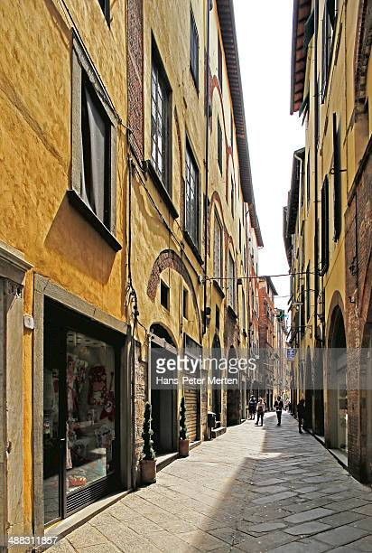Lucca, old town, Tuscany, Italy