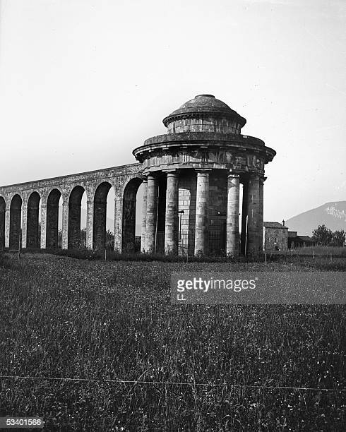 Lucca The aqueduct About 1895