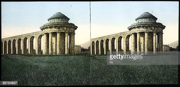Lucca The aqueduct By 1895 LL20548 stereo colours