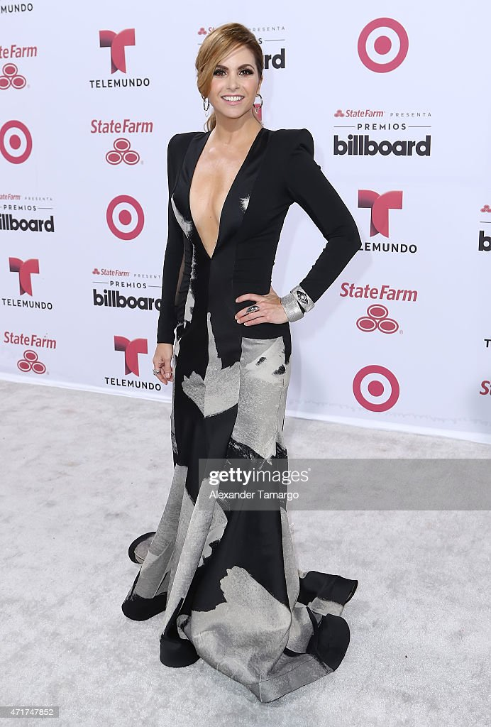 Lucero arrives at 2015 Billboard Latin Music Awards presented by State Farm on Telemundo at Bank United Center on April 30, 2015 in Miami, Florida.