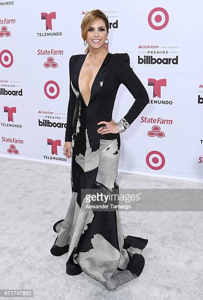 Lucero arrives at 2015 Billboard Latin Music Awards presented by State Farm on Telemundo at Bank United Center on April 30 2015 in Miami Florida