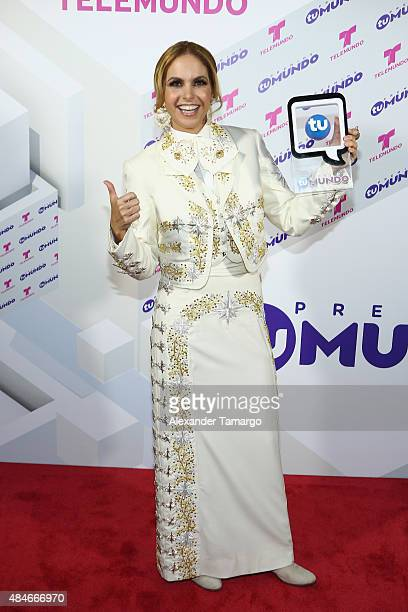 Lucero attends Telemundo's 'Premios Tu Mundo Awards' 2015 at American Airlines Arena on August 20 2015 in Miami Florida