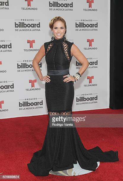 Lucero attends the Billboard Latin Music Awards at Bank United Center on April 28 2016 in Miami Florida