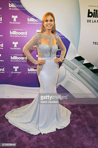 Lucero backstage at Billboard Latin Music Awards at Bank United Center on April 28 2016 in Miami Florida