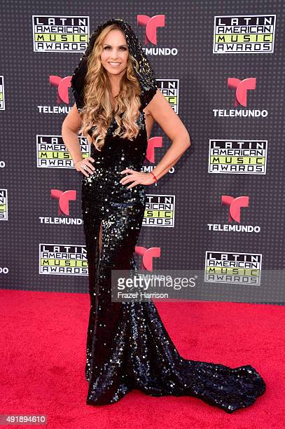Lucero Hogaza Leon aka Lucero attends Telemundo's Latin American Music Awards at the Dolby Theatre on October 8 2015 in Hollywood California