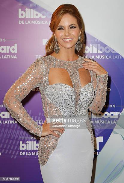 Lucero is seen backstage at the Billboard Latin Music Awards at the Bank United Center on April 28 2016 in Coral Gables Florida