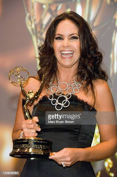 Lucero of Televisa at the 2nd annual Leaders of Spanish Language Television Emmy Awards