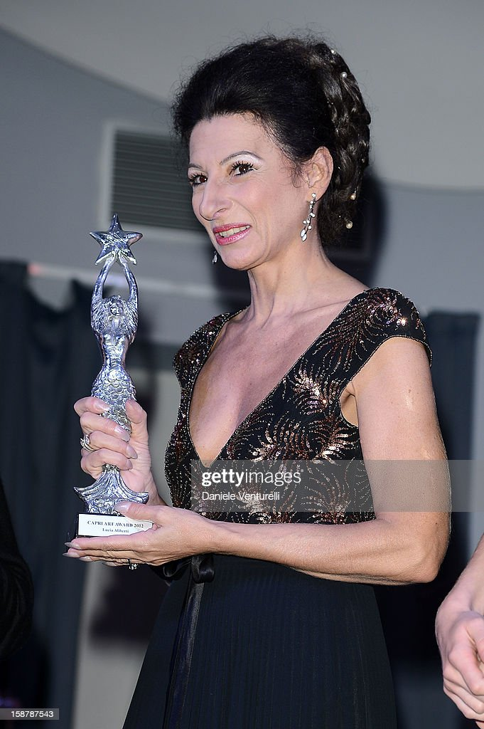Lucia Aliberti attends Day 3 of the 2012 Capri Hollywood Film Festival on December 28, 2012 in Capri, Italy.