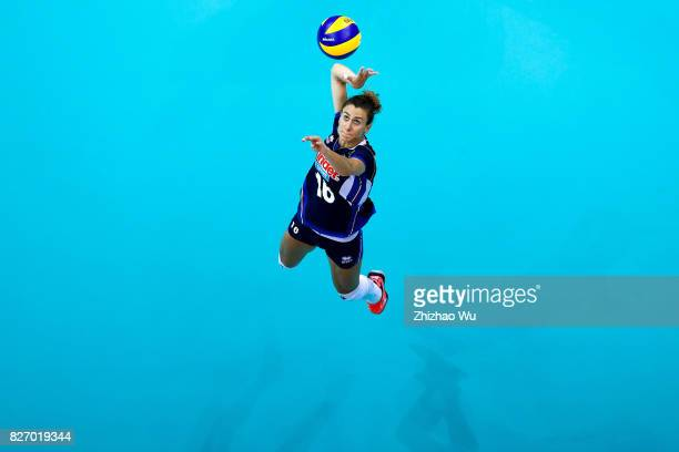Lucia Bosetti of Italy during 2017 Nanjing FIVB World Grand Prix Finals between Italy and Brazil on August 6 2017 in Nanjing China
