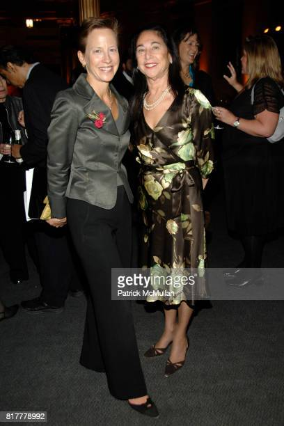 Lucia DeRespinis and Laura Blau attend INFINITY OF NATIONS Gala at National Museum of the American Indian on October 20 2010 in New York City