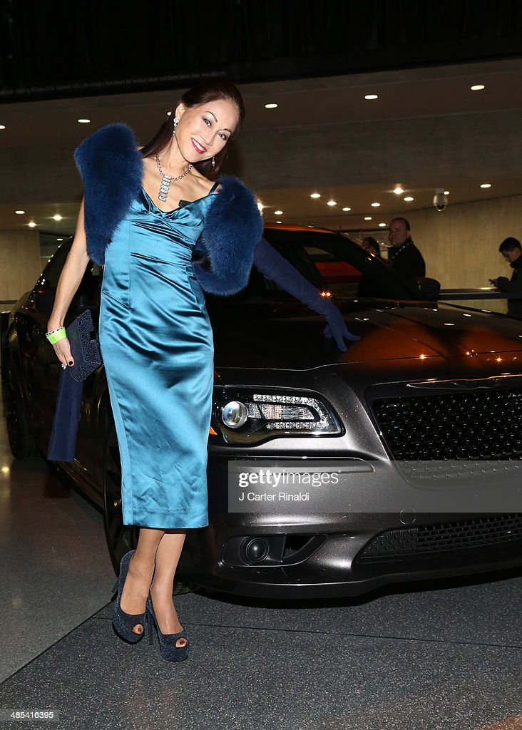 Lucia Hwong attends the East Side House Gala Preview during the 2014 New York Auto Show at the Jacob Javits Center on April 17, 2014 in New York City.