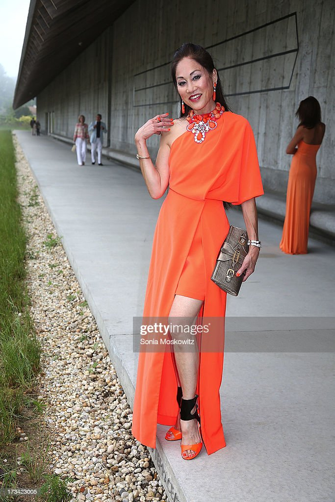 Lucia Hwong Gordon attends the Parrish Art Museum 2013 Midsummer Party on July 13, 2013 in Southampton, United States.