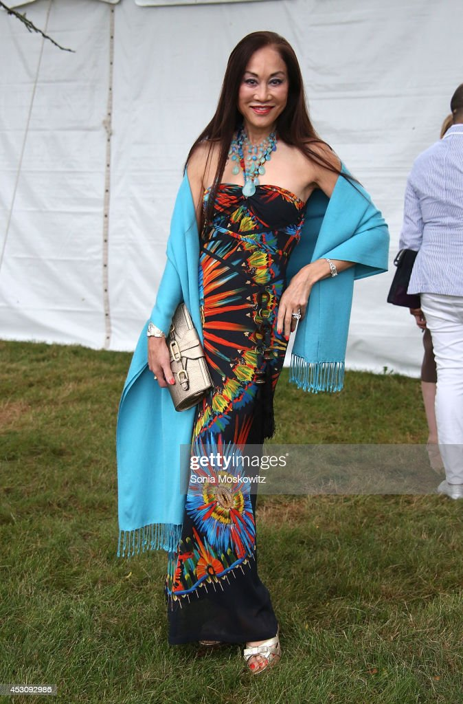 Lucia Hwong Gordon attends the Southampton Hospital's 56th Annual 'Endless Summmer' party on August 2, 2014 in Southampton, New York.