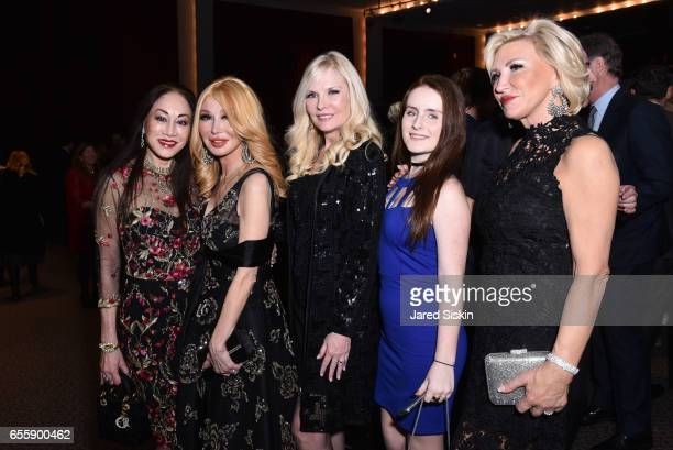 Lucia Hwong Gordon Elizabeth Segerstrom Colleen Rein Morgan Rein and Sabina Gerjatowicz attend the New York Premiere and Celebration of Documentary...