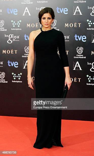 Lucia Jimenez attends Goya Cinema Awards 2014 at Centro de Congresos Principe Felipe on February 9 2014 in Madrid Spain