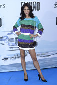 Lucia Lapaz attends the premiere of 'El Nino' at Kinepolis Cinema on August 28 2014 in Madrid Spain