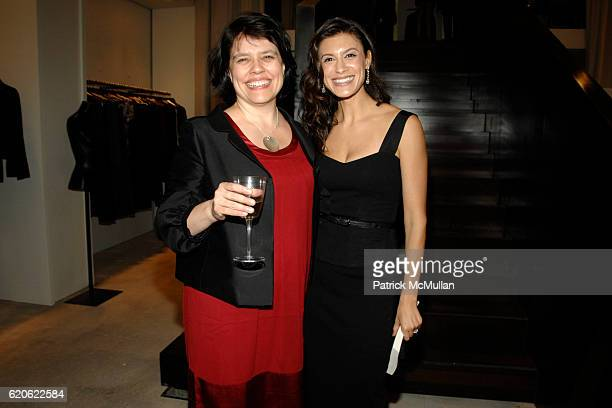 Lucia Macro and Tatiana Boncompagni attend VOGUE and ELIE TAHARI host cocktails to celebrate TATIANA BONCOMPAGNI's new book GILDING LILY at Elie...