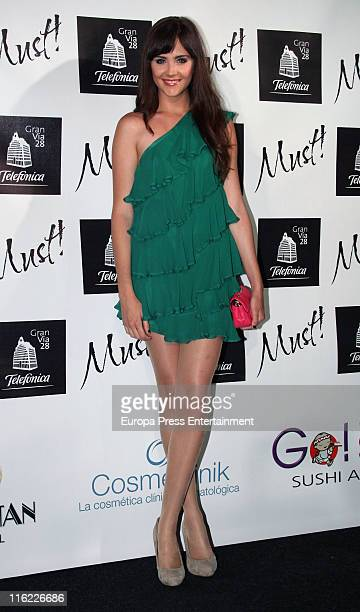 Lucia Ramos attends 'Must Awards' 2011 on June 14 2011 in Madrid Spain