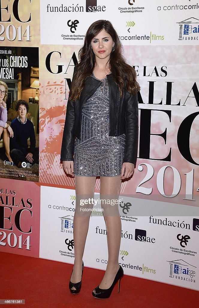 Lucia Ramos attends the 'CEC' medals 2014 ceremony at the Palafox cinema on February 3, 2014 in Madrid, Spain.