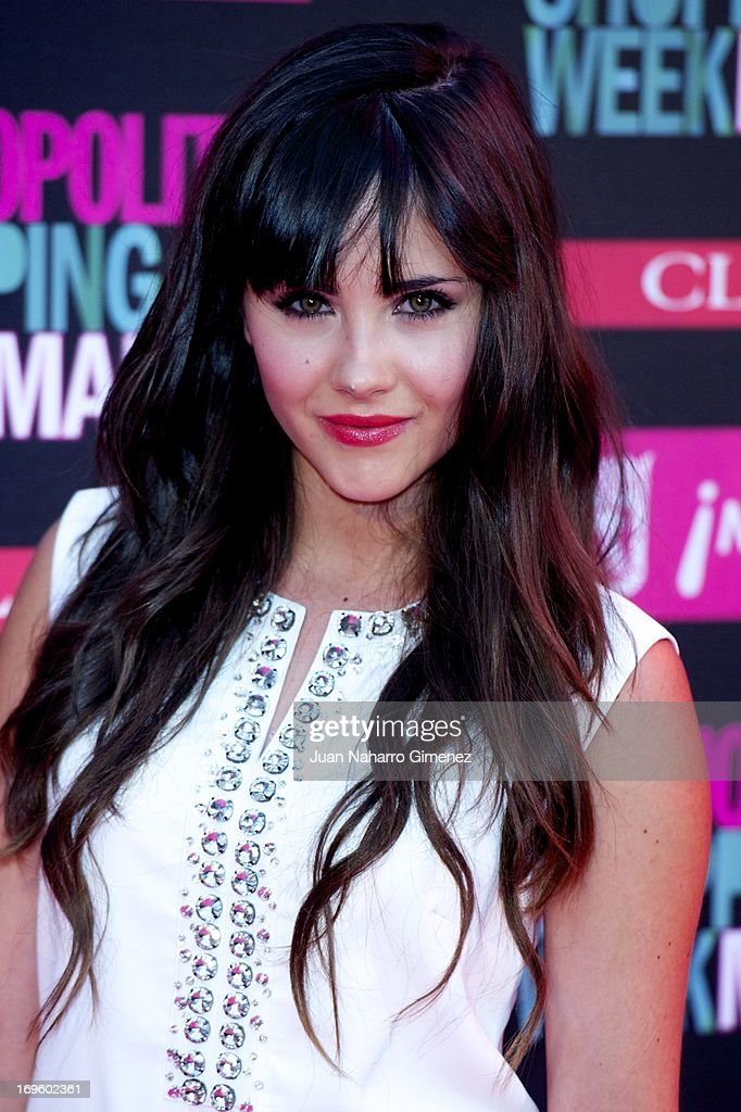 Lucia Ramos attends the 'Cosmopolitan Shopping Week' party at the Plaza de Callao on May 28, 2013 in Madrid, Spain.