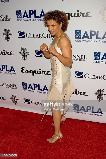 Lucia Rijker during The Abbey/Esquire Magazine's 'The Envelope Please' Oscar Party Arrivals at The Abbey in Los Angeles CA United States