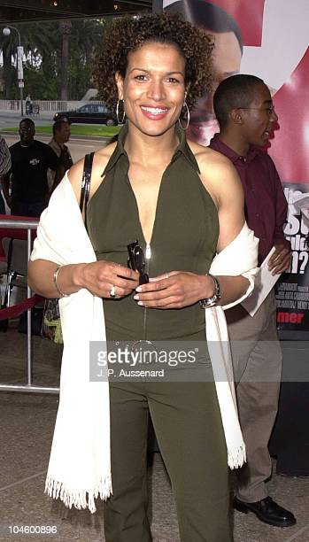 Lucia Rijker during What's The Worst That Could Happen Premiere at Loew's Cineplex Century Plaza in Los Angeles California United States