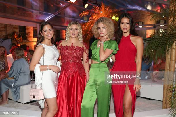 Lucia Strunz daughter of Claudia Effenberg and Thomas Strunz Luna Schweiger daughter of Til and Dana Schweiger Chiara Moon Horst daughter of...