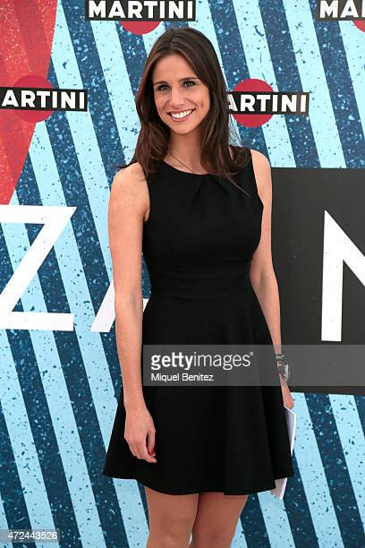 Lucia Villalon attends at Terrazza MARTINI to announce Bar Refaeli as the global MARTINI Race ambassador The VIP party kicked off the European...