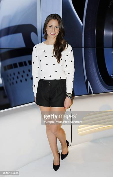 Lucia Villalon attends the presentation of the coverage of Formula 1 at Antena 3 Tv Channel on March 5 2015 in Madrid Spain