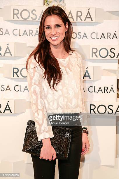 Lucia Villalon attends the Rosa Clara fashion show during 'Barcelona Bridal Week 2015' on May 5 2015 in Barcelona Spain