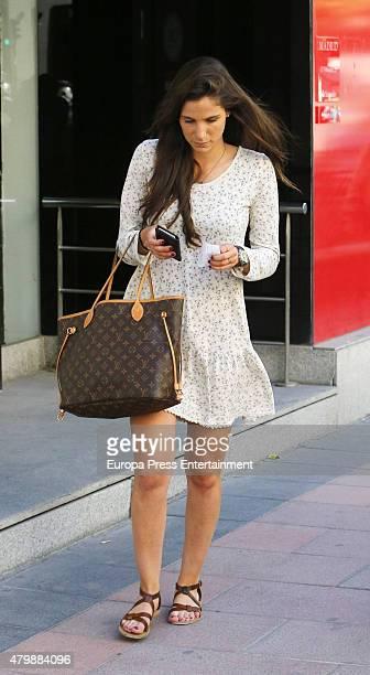 Lucia Villalon is seen on May 26 2015 in Madrid Spain