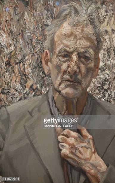 Lucian Freud The studio' Exhibition at the Centre Pompidou in Paris France on March 09th 2010