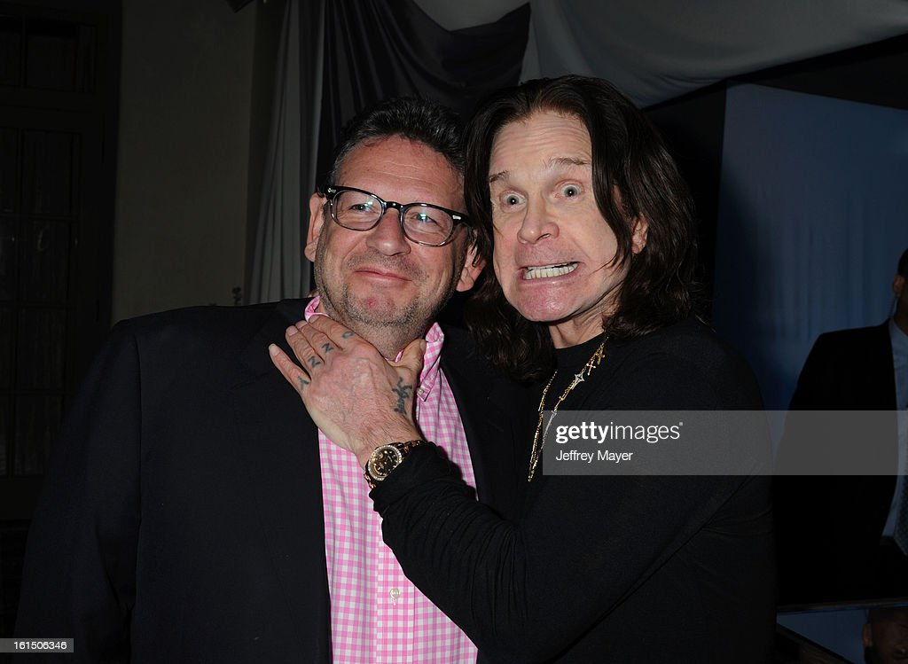 <a gi-track='captionPersonalityLinkClicked' href=/galleries/search?phrase=Lucian+Grainge&family=editorial&specificpeople=813742 ng-click='$event.stopPropagation()'>Lucian Grainge</a> and <a gi-track='captionPersonalityLinkClicked' href=/galleries/search?phrase=Ozzy+Osbourne&family=editorial&specificpeople=138608 ng-click='$event.stopPropagation()'>Ozzy Osbourne</a> attend the Universal Music Group Chairman & CEO <a gi-track='captionPersonalityLinkClicked' href=/galleries/search?phrase=Lucian+Grainge&family=editorial&specificpeople=813742 ng-click='$event.stopPropagation()'>Lucian Grainge</a>'s annual Grammy Awards viewing party on February 10, 2013 in Brentwood, California.