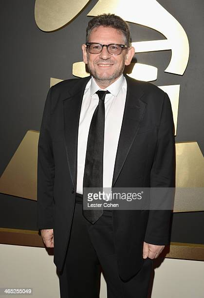 Lucian Grainge Chairman and Chief Executive Officer of Universal Music Group attends the 56th GRAMMY Awards at Staples Center on January 26 2014 in...