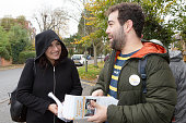 GBR: Liberal Democrat Candidate Luciana Berger Campaigns In Finchley & Golders Green