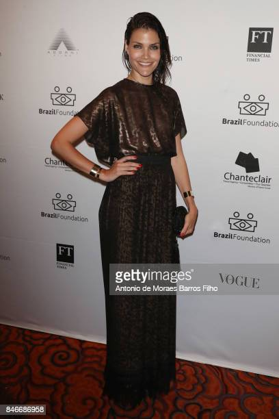 Luciana Curtis attends the 2017 Brazil Foundation Gala on September 13 2017 in New York City