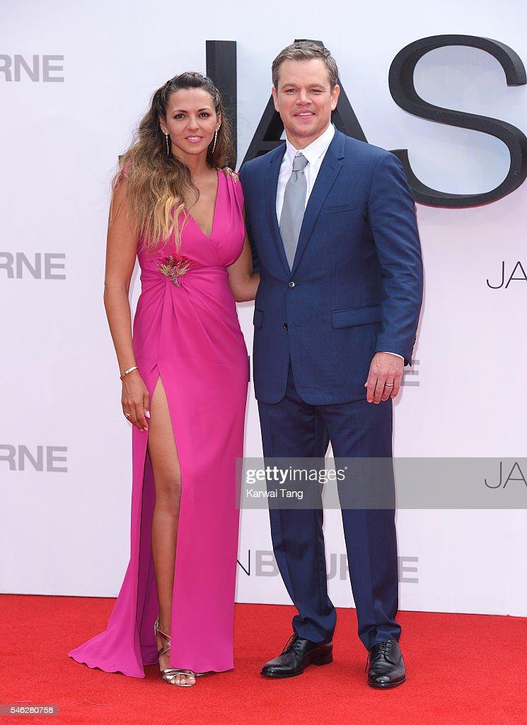 """Jason Bourne"" - The European Premiere - Red Carpet"