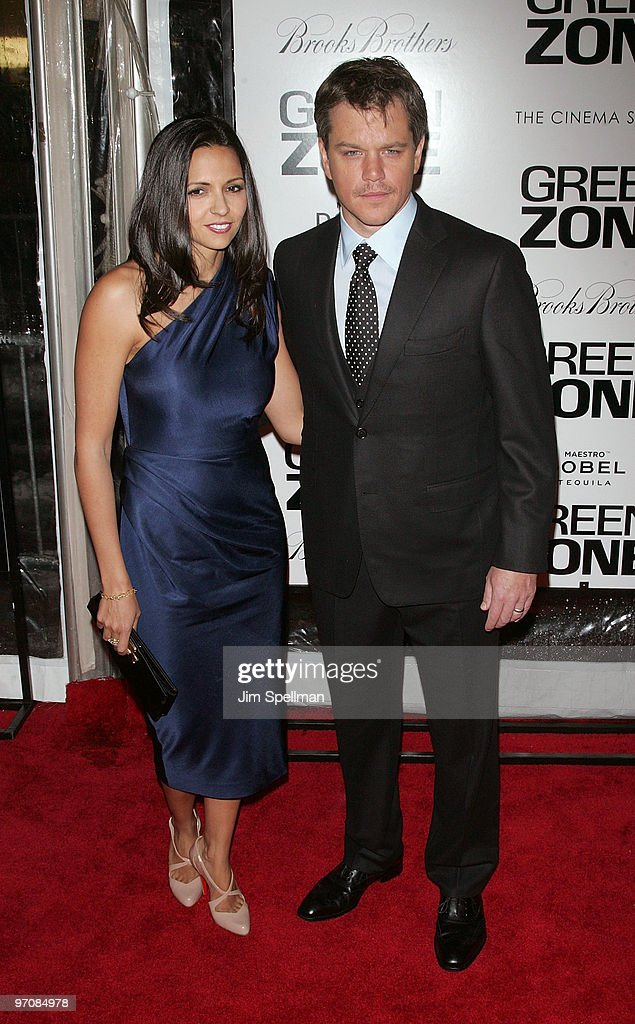 """Green Zone"" New York Premiere - Outside Arrivals"