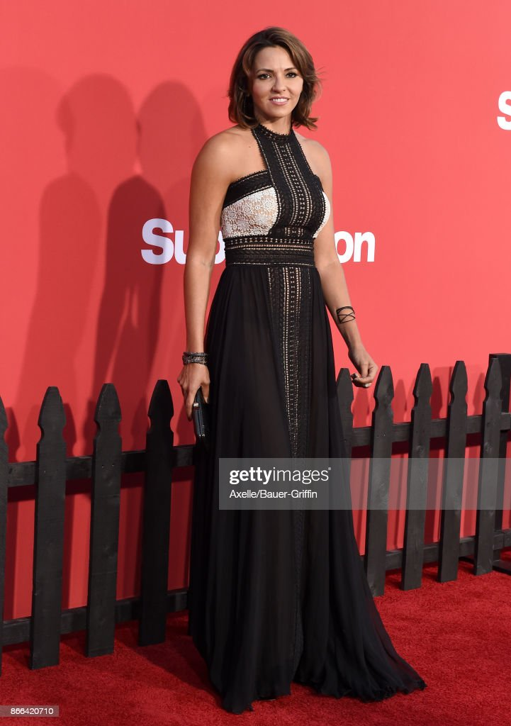 Luciana Damon arrives at the premiere of Paramount Pictures' 'Suburbicon' at Regency Village Theatre on October 22, 2017 in Westwood, California.