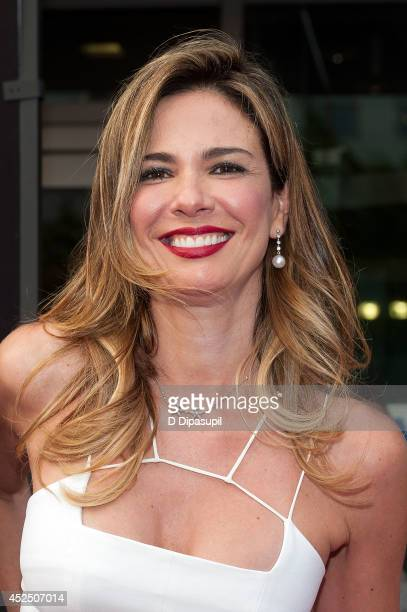 Luciana Gimenez attends the 'Get On Up' premiere at The Apollo Theater on July 21 2014 in New York City