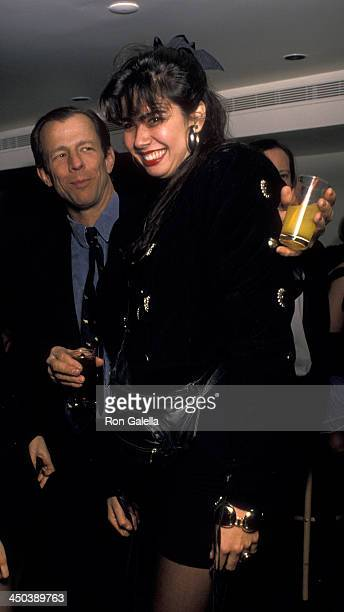Luciana Gimenez attends Thierry Mugler Fashion Benefit Party on February 16 1989 in New York City