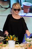 Luciana Littizzetto attend the 64th San Remo Song Festival 2014 press conference at Teatro Ariston on February 18 2014 in Sanremo Italy