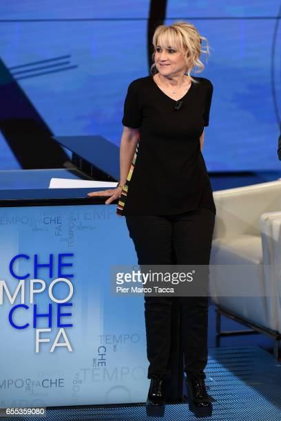 Luciana Littizzetto attends 'Che Tempo Che Fa' Tv Show on March 19 2017 in Milan Italy